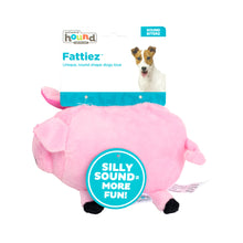 Load image into Gallery viewer, Outward Hound Fattiez Dog Plush Toy Pig
