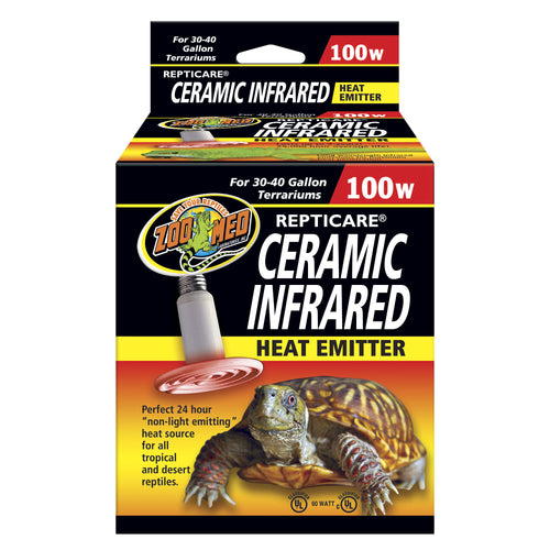 ReptiCare® Ceramic Infrared Heat Emitter Medium 100 Watts