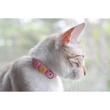 Load image into Gallery viewer, Be One Breed Adjustable Silicone Cat Collar Pink va1