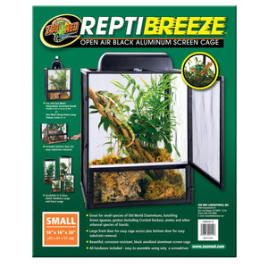 ReptiBreeze® Open Air Screen Cage - Small