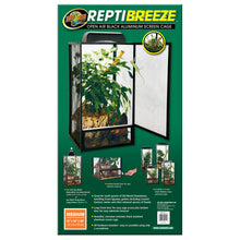 Load image into Gallery viewer, ReptiBreeze® Open Air Screen Cage - Medium