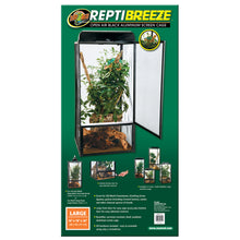 Load image into Gallery viewer, ReptiBreeze® Open Air Screen Cage - Large