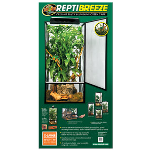 ReptiBreeze® Open Air Screen Cage - XLarge