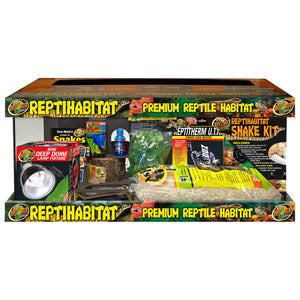 ReptiHabitat Snake Starter Kit - 20 Gallon