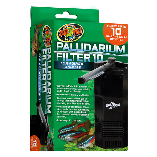 Zoo Med Paludarium Filter - 10 Gallons