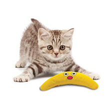 Load image into Gallery viewer, Petstages Green Magic Boomerang Buddy Cat Toy