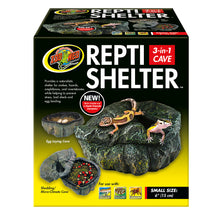 Load image into Gallery viewer, Repti Shelter™ 3-in-1 Cave - Small
