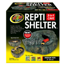 Load image into Gallery viewer, Repti Shelter™ 3-in-1 Cave - Medium