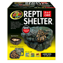 Load image into Gallery viewer, Repti Shelter™ 3-in-1 Cave - Large