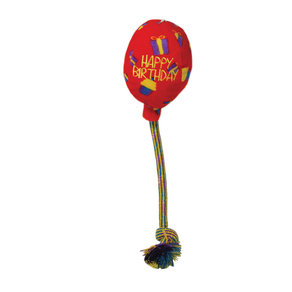 kong occasions birthday balloon red