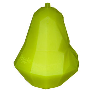 Spunky Pup Fruit Shaped Treat Dispenser Toys Pear