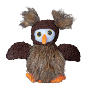 Spunky Pup Furry Friends Dog Toy Owl