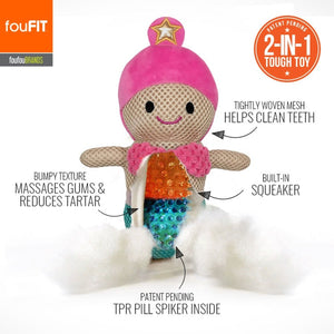 FouFit Under The Sea Spiker 2-in-1 Toys