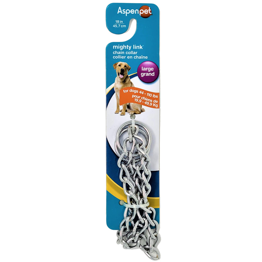 Mighty Link 3 mm Heavy Weight Chain Collar va1