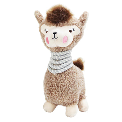 Be One Breed Lola The Llama Dog Plush Toy va0