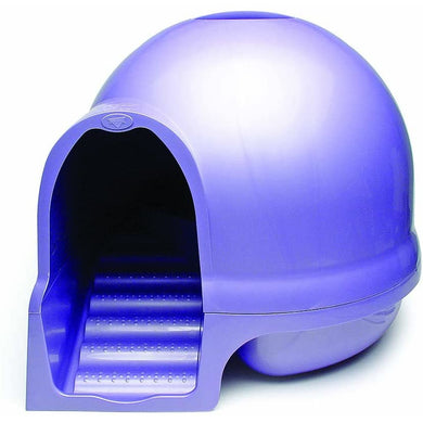Booda Dome Cleanstep Litter Box - Iris