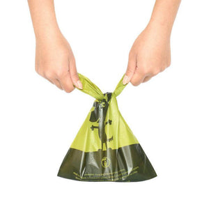 Earth Rated Eco Friendly Easy-Tie Handle Waste Bag Tied va0