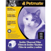 Load image into Gallery viewer, Petmate Hooded Pans Zeolite / Charcoal Filters
