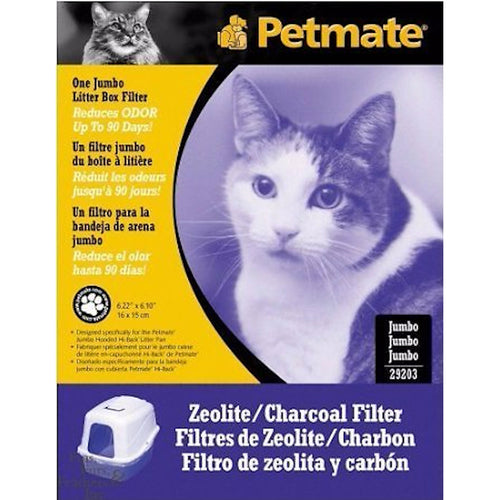 Petmate Hooded Pans Zeolite / Charcoal Filters