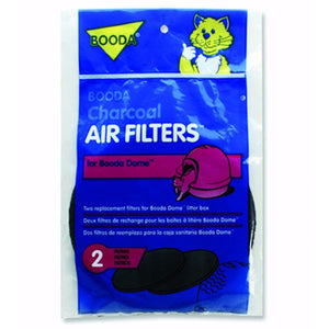 Booda Dome Charcoal Air Filters - 2 pack