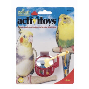 JW Drum Bird Toy