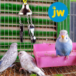 JW Fork, Knife, Spoon Bird Toy