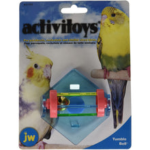 Load image into Gallery viewer, JW Tumble Bell Bird Toy