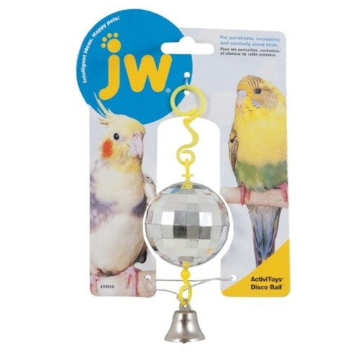 JW Disco Ball Bird Toy