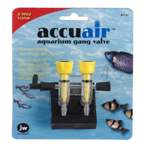 JW AccuAir Aquarium 2 Way Gang Valve