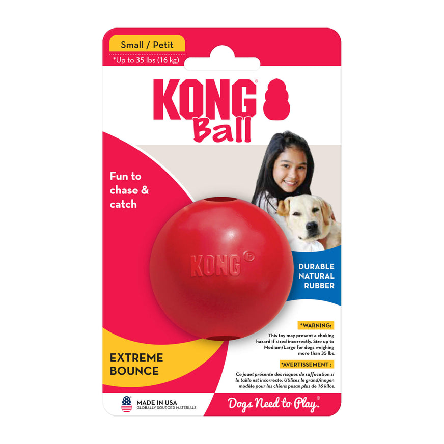 KONG Classic Ball Dog Toy Small va1