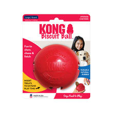 Load image into Gallery viewer, KONG Biscuit Ball Treat Dispensing Toy Large va2