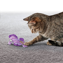 Load image into Gallery viewer, Cat playing with KONG CuteSeas Octopus va0