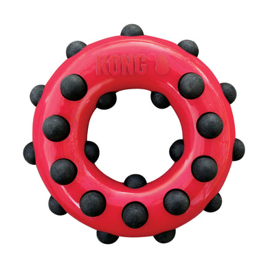KONG Dotz Circle Dog Chew Toy va0