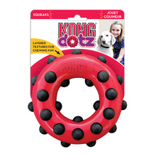 Load image into Gallery viewer, KONG Dotz Circle Dog Chew Toy Packaging va0