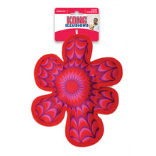 Load image into Gallery viewer, KONG Illusions Flower Fetch Toy Package va0