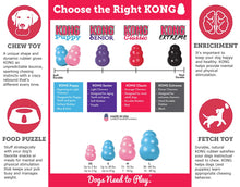 Load image into Gallery viewer, KONG Puppy Size Guide va-