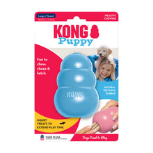 Load image into Gallery viewer, KONG Treat Dispensing Puppy Toy Packaging Large Blue va4