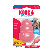 Load image into Gallery viewer, KONG Treat Dispensing Puppy Toy Packaging Medium Pink va3