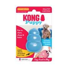 Load image into Gallery viewer, KONG Treat Dispensing Puppy Toy Packaging X-Small Blue va1