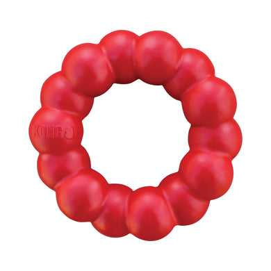 KONG Ring - Natural Rubber Chew Toy va0