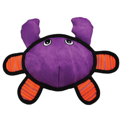 KONG Roughskinz Crab Dog Plush Toy va0