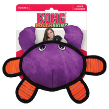Load image into Gallery viewer, KONG Roughskinz Crab Dog Plush Toy Packaging va0