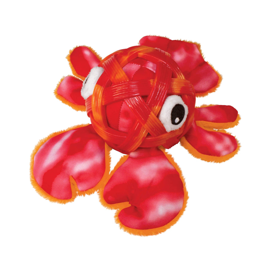 KONG Sea Shells Plush Toy | Lobster va0