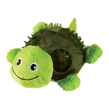 Load image into Gallery viewer, KONG Shells Turtle Dog Squeaker Toy va0