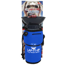 Load image into Gallery viewer, Lap-It-Up Portable Dog Water Bottle Blue va3