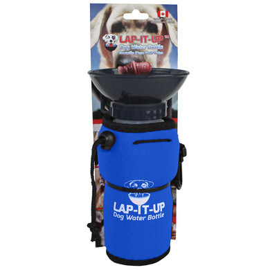 Lap-It-Up Portable Dog Water Bottle Blue
