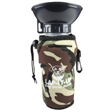 Load image into Gallery viewer, Lap-It-Up Portable Dog Water Bottle Camo va4