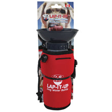 Load image into Gallery viewer, Lap-It-Up Portable Dog Water Bottle Red va1