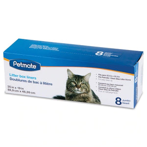 Petmate White Cleanstep Litter Box Liners - Jumbo