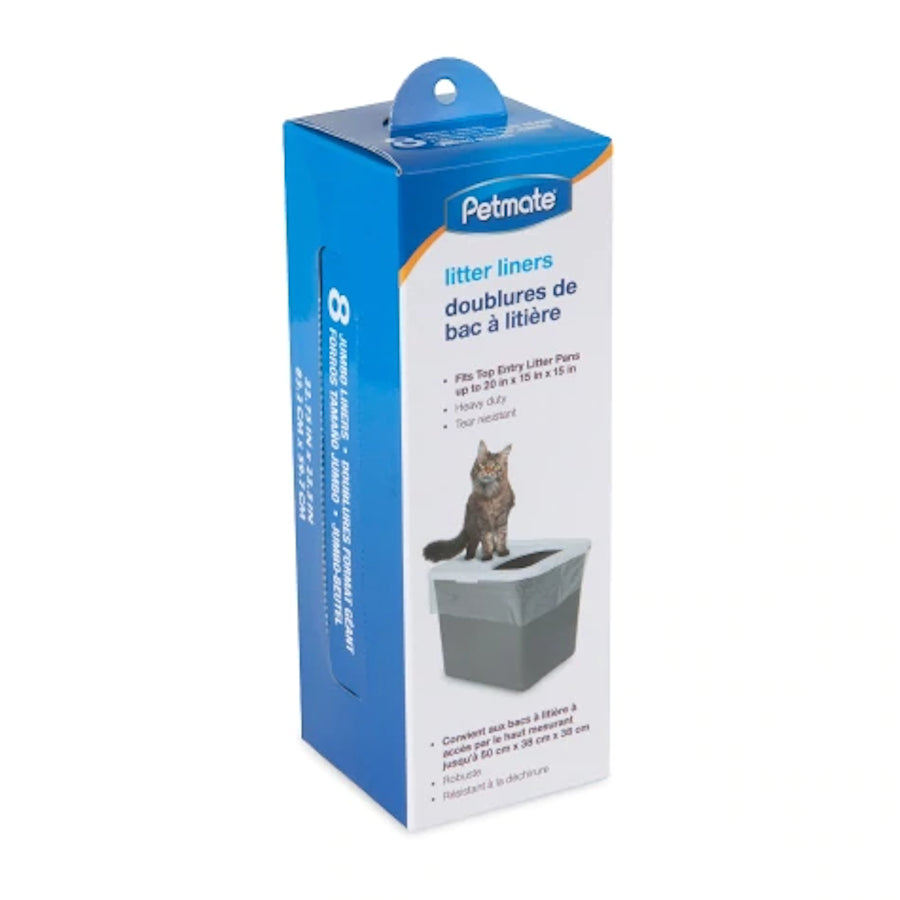 Petmate Clear Top Entry Litter Pan Liners